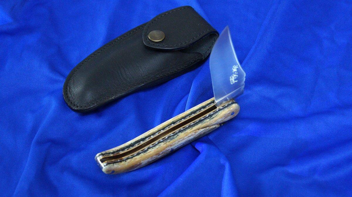 Taschenmesser Laguiole du Barry, Jagdmesser, Giraffenknochen Giraffenknochen Giraffenknochen B076HB7BX9     | Trendy  5b6c20