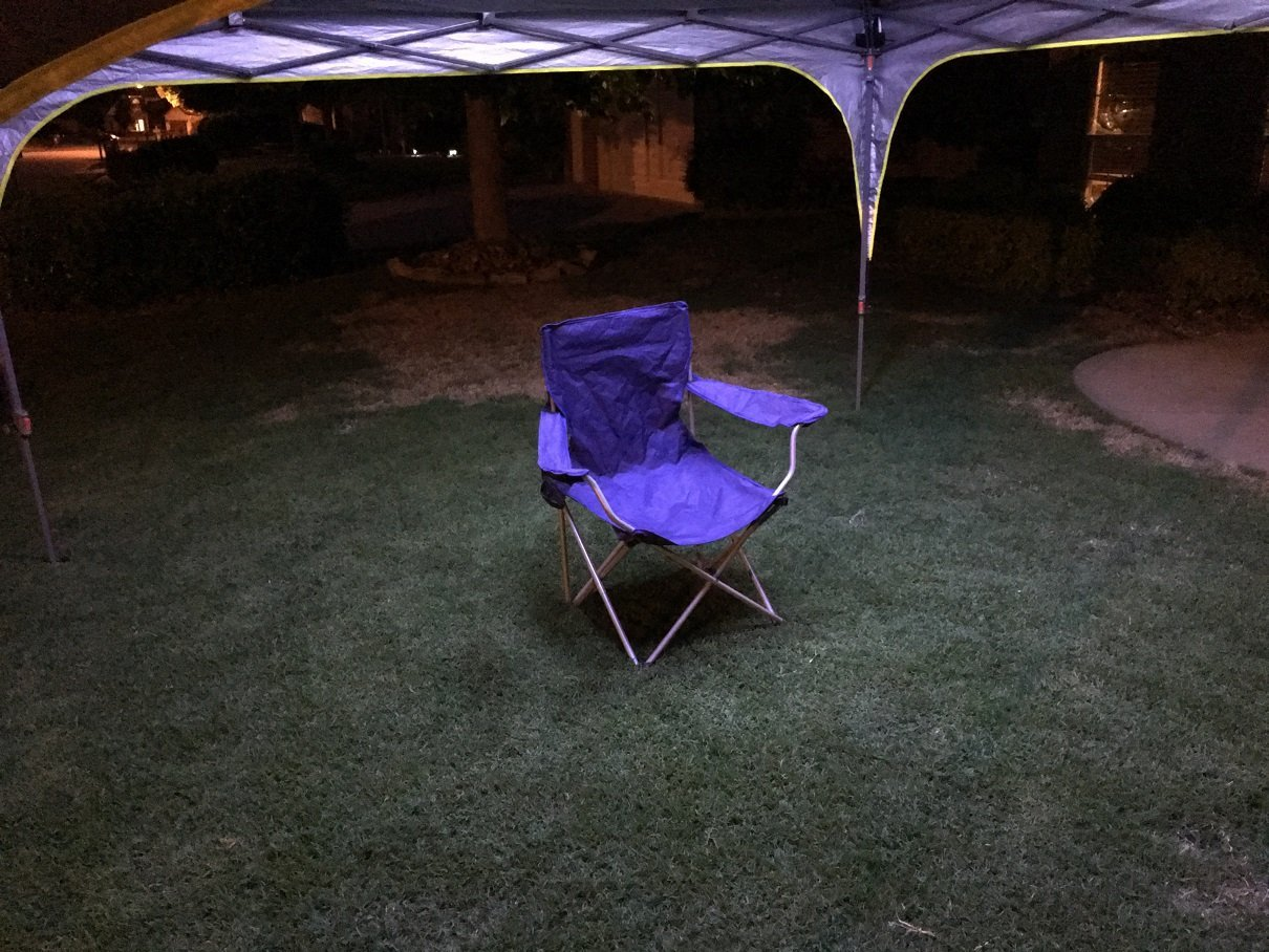 Pop UP Canopy Tent LED Light Kit (4', White) by Vorocon LED