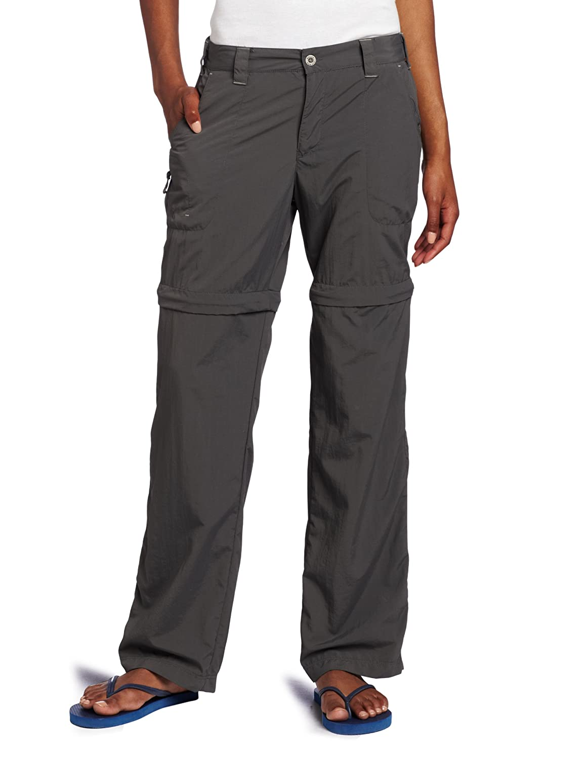 White Sierra Women's Sierra Point 31-Inch Inseam Convertible Pant X9505W-STN