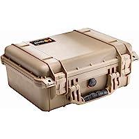 Pelican 1450 Case with Foam (Camera, Gun, Equipment, Multi-Purpose) - Desert Tan