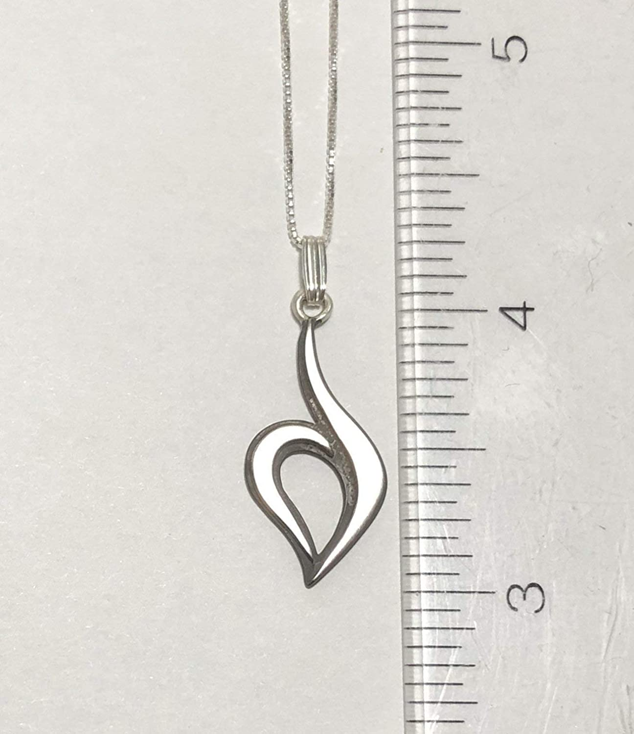Eating Disorder Recovery Necklace with 1.2 pendant
