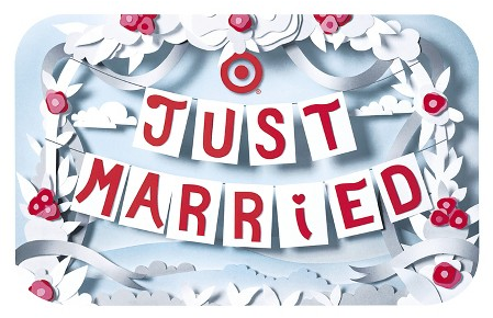 Target Gift Card - Just Married