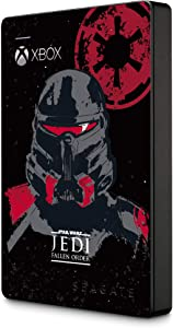 Seagate Game Drive for Xbox 2TB External Hard Drive Portable HDD – USB 3.0 Star Wars Jedi: Fallen Order Special Edition, Designed for Xbox One (Stea2000426)