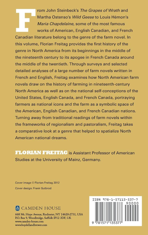 Amazon The Farm Novel In North America European Studies In