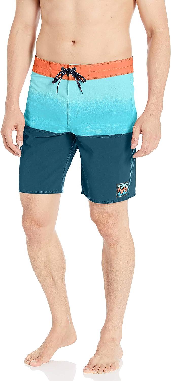 Billabong Men's Fifty50 Fade Pro Boardshorts Blue 36