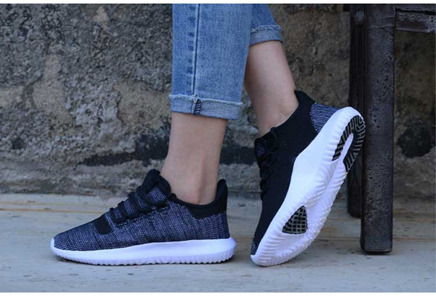 GAOAG Sneakers Running Cushioning Lightweight Breathable Casual Shoes Unisex by GAOAG (Image #7)