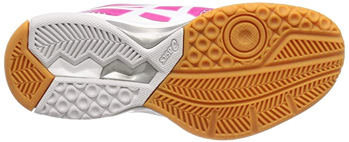 Asics Gel Rocket 8, Zapatos de Voleibol para Mujer, Blanco (WhiteIcy Morning 115), 39 EU