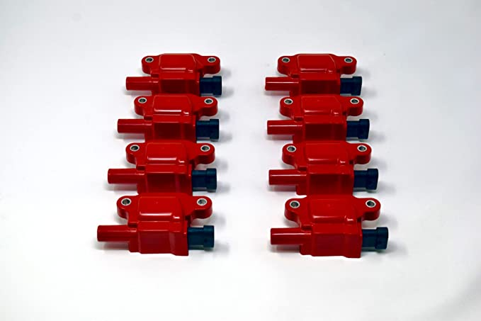Amazon.com: REV Ignition compatible with GM 05-14 Square Style 12611424 High Performance Ignition Coil Set of 8 RD1007R: Automotive