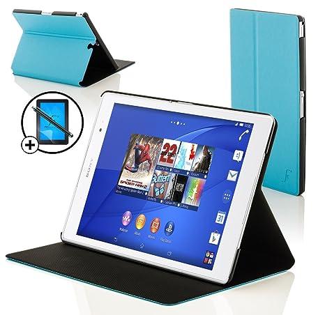 Forefront Cases Sony Xperia Z3 8.0 Tablet Compact Funda Carcasa Stand Smart Case Cover – Ultra Delgado Protección Completa Dispositivo con Función ...