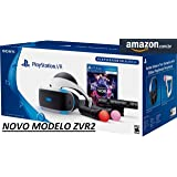 Playstation VR novo modelo ZVR2 com jogo VR WORLDS