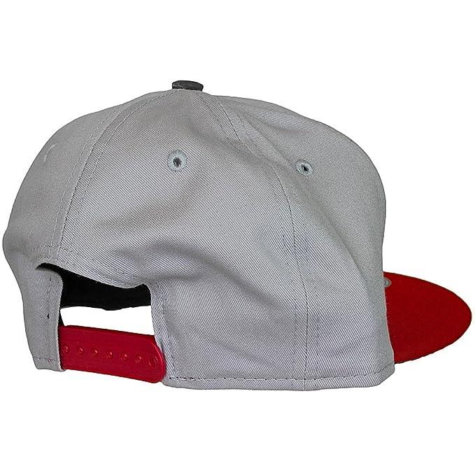 Yo MTV Raps New Era Snapback CAP grey   red   graphite  Amazon.co.uk   Clothing 043987f408dd