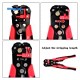 Wire Stripper, EONLION Self-adjusting Cable Cutter