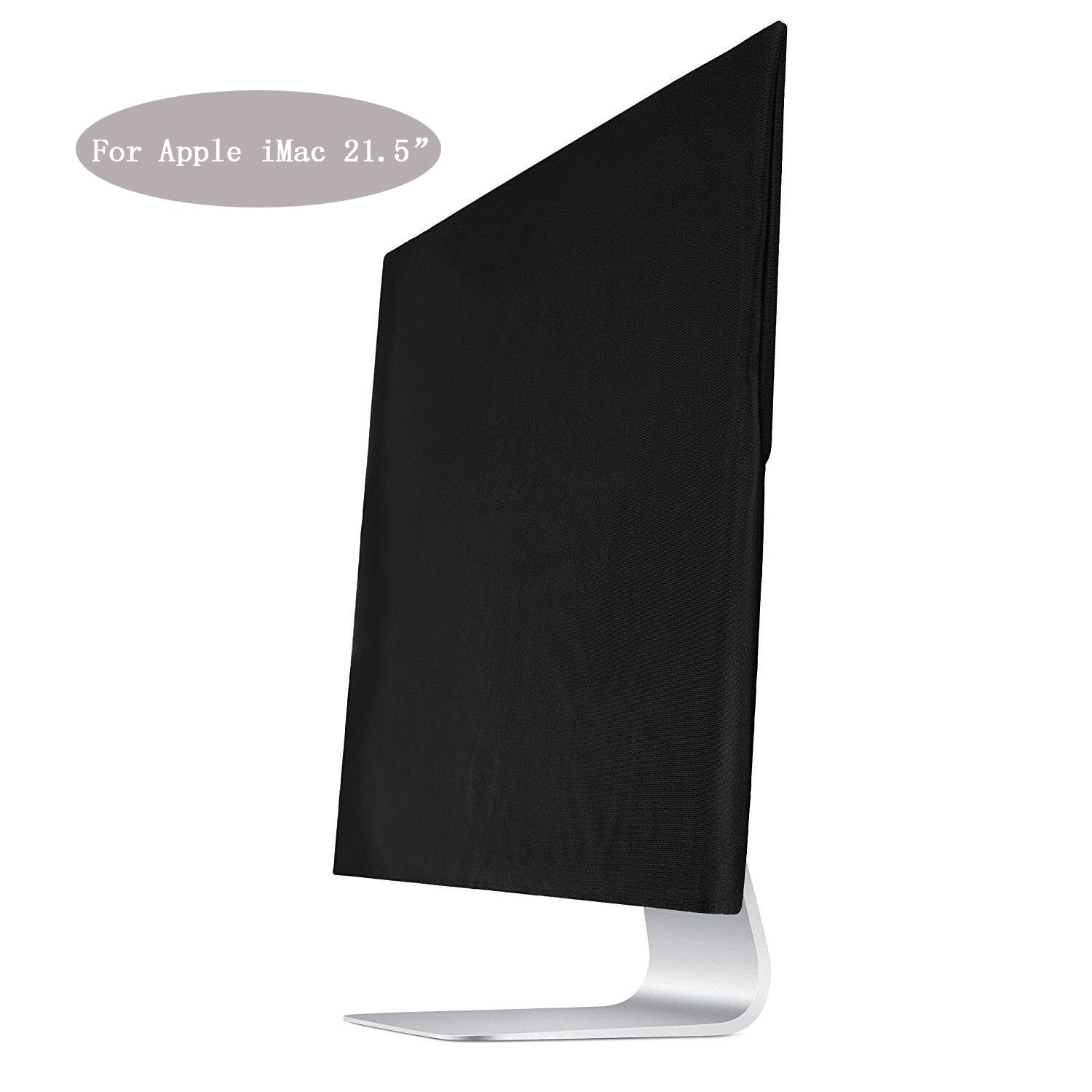 ASYOU Black Dust Screen Cover Sleeve for Apple iMac 21.5 Dust Cover,Display Protector (A1224, A1311, A1418)