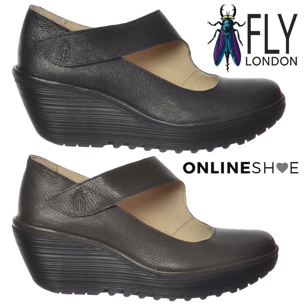 FLY London Women's Yasi682fly Wedge Pump B01M0VS03Q UK6 - EU39 - US8 - AU7' Nicotine Mousse