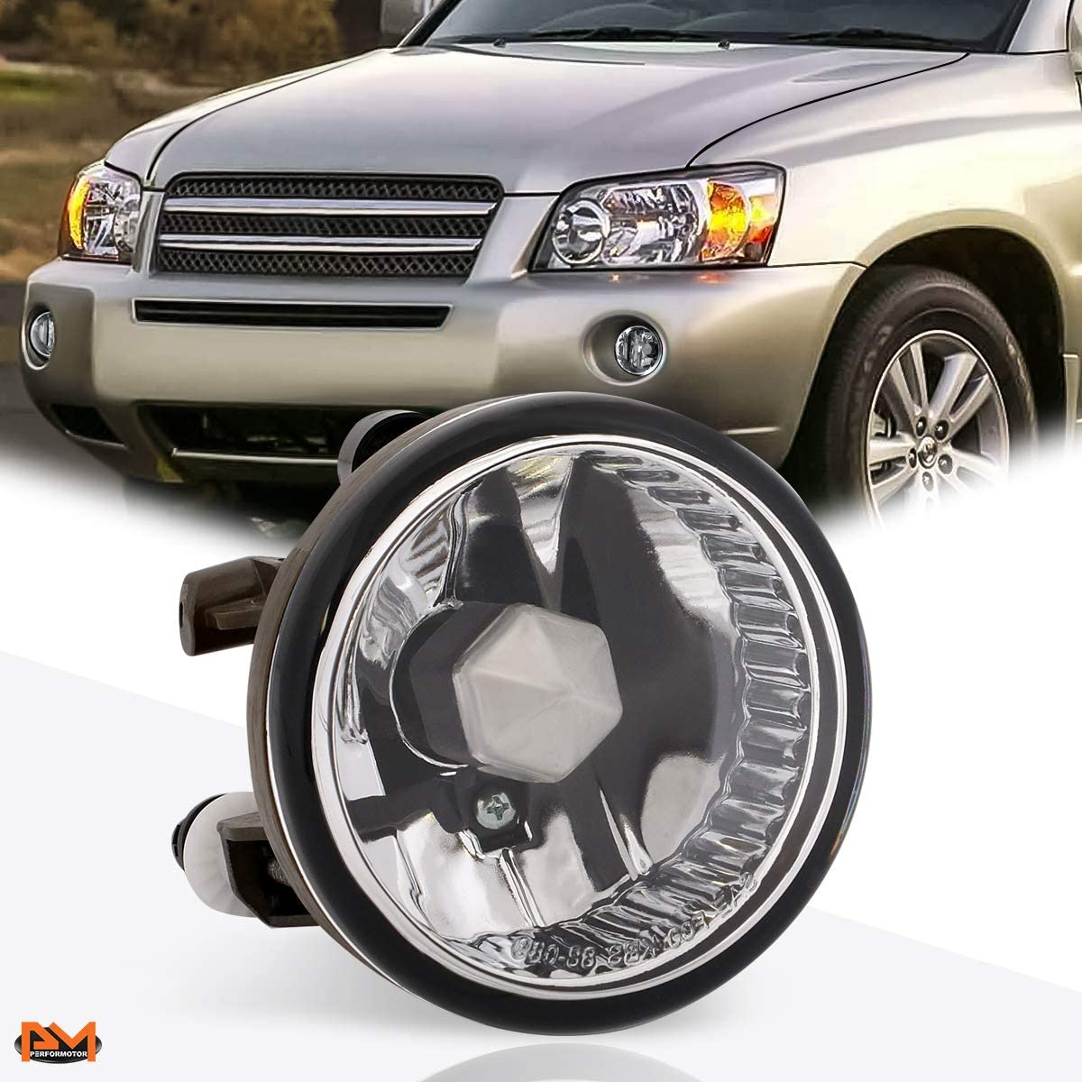 For 00-09 Echo//Highlander//Prius OE Style Front Bumper Fog Light//Lamp Right Side