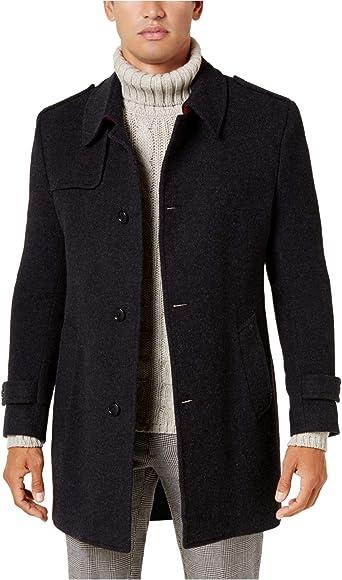 Kenneth Cole New York Mens Estes Top Coat