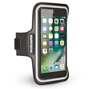 save off abbdf ba7a8 iPhone 7 & iPhone 8 Sports Armband by Caseflex: Amazon.co.uk ...