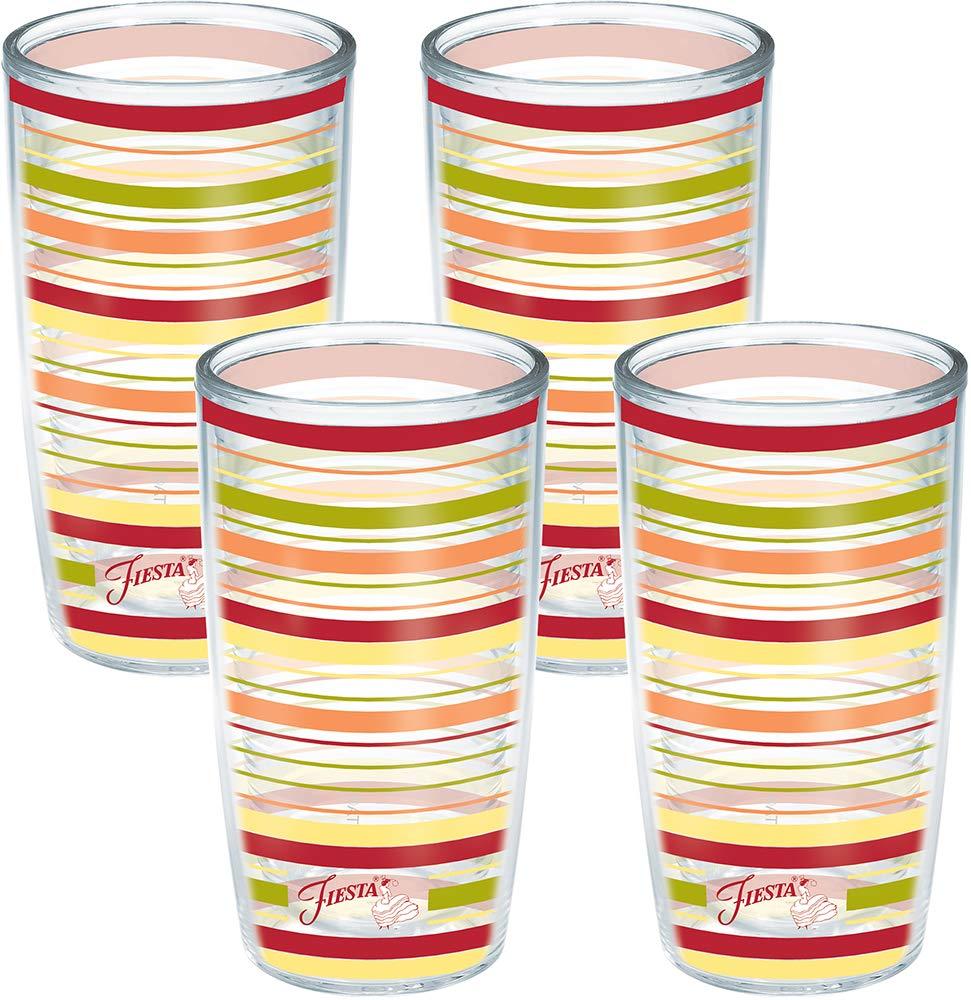 Tervis No Lid Glass, Clear, 16 oz - Tritan - 1052156