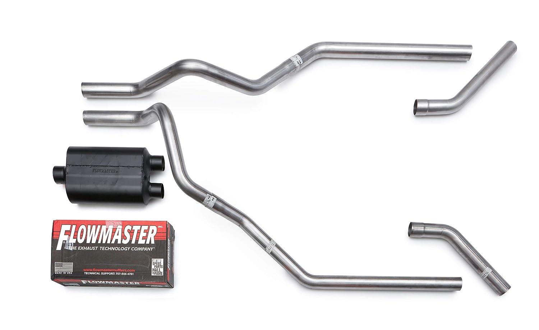 "Dodge Ram 1500 04-08 2.5/"" Dual Exhaust Kits Flowmaster Super 10 Corner Exit"