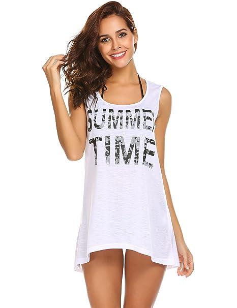 1f7d0f7efe25 Vansop Women's Tunic Tops Beach Wear Bikini Cover up Bathing Suit Swimwear  Crochet Beach Dress(