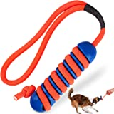 Tough Dog Toys for Aggressive Chewers Large Medium Breed, RANTOJOY Puppy Teething Chew Toys for Puppies Small Dogs, Rubber Do