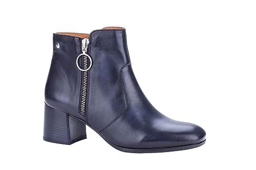 PIKOLINOS BAYONA W8T Botines/Low Boots Mujeres Camel Botines: Amazon.es: Zapatos y complementos