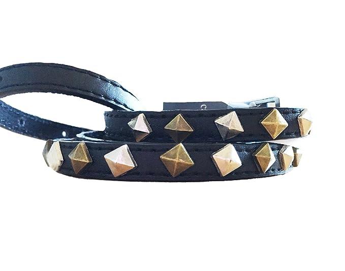 scarpe esclusive vera qualità valore eccezionale Carpisa Cintura donna borchie oro/argento 101cm.: Amazon.it ...