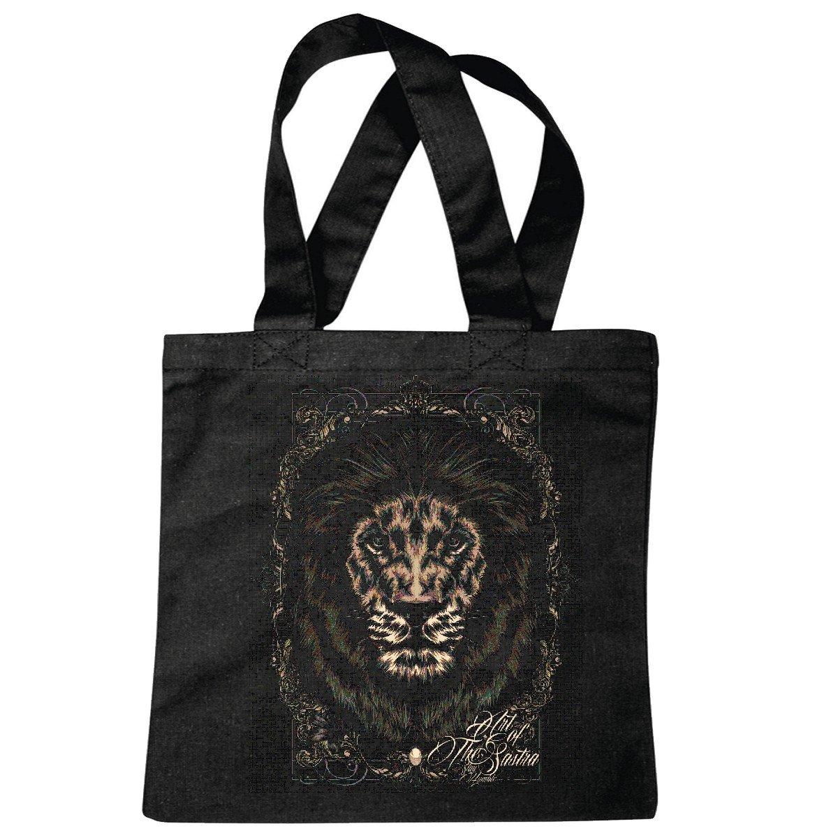 Bolsillo Bolso Bolsa GOTHIC TATUAJE LION KING LION salvaje animal ...