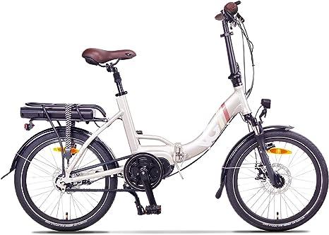 VG Bikes Brighton - Bicicleta eléctrica Plegable (20 Pulgadas ...