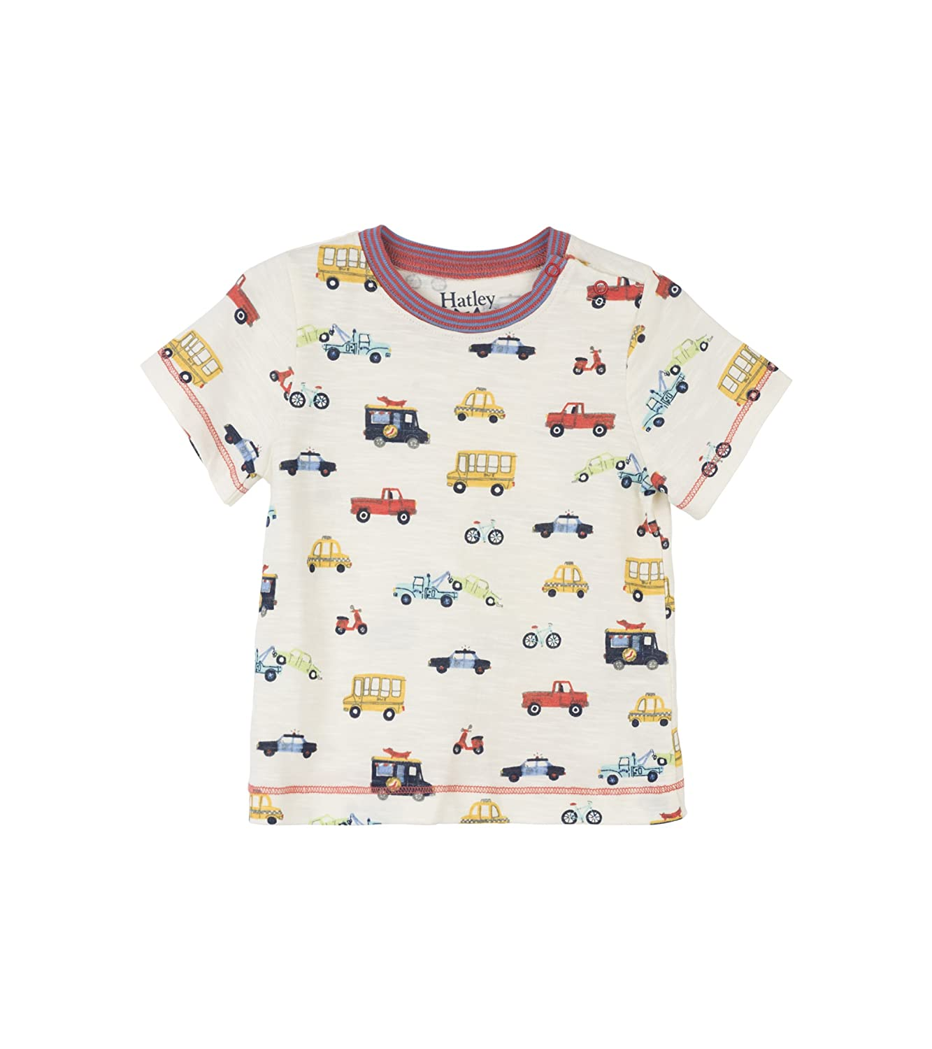 Hatley Baby Boys' Mini Short Sleeve Graphic Tee T-Shirt