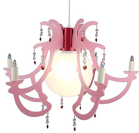 J.Niermann 179 Rosata rosa - Lámpara de techo con brazos ...