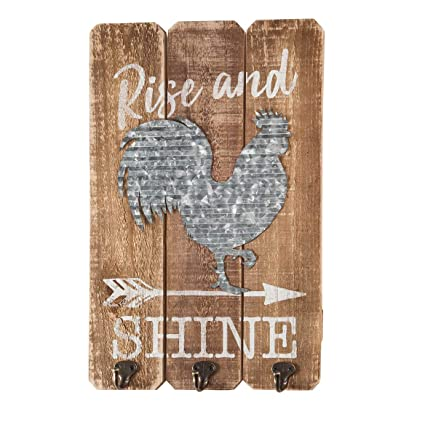 Amazon Com Fox Valley Traders Rise And Shine Rooster Wall Decor