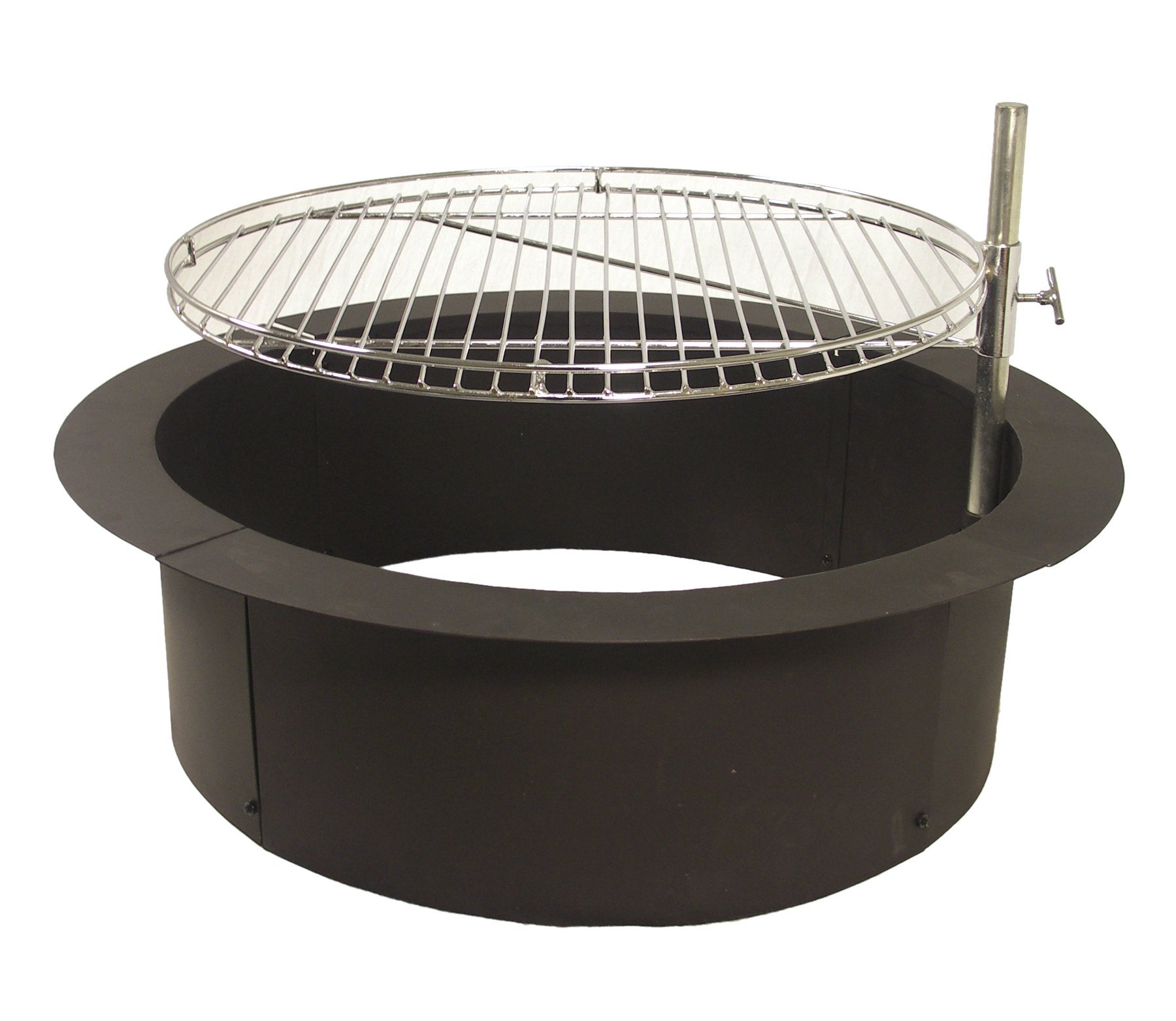 Catalina Creations Heavy Duty Fire Ring with Cooking Grate