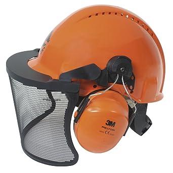 3 M Peltor de bosque de trabajadores de casco, De colour naranja, 3MO315C