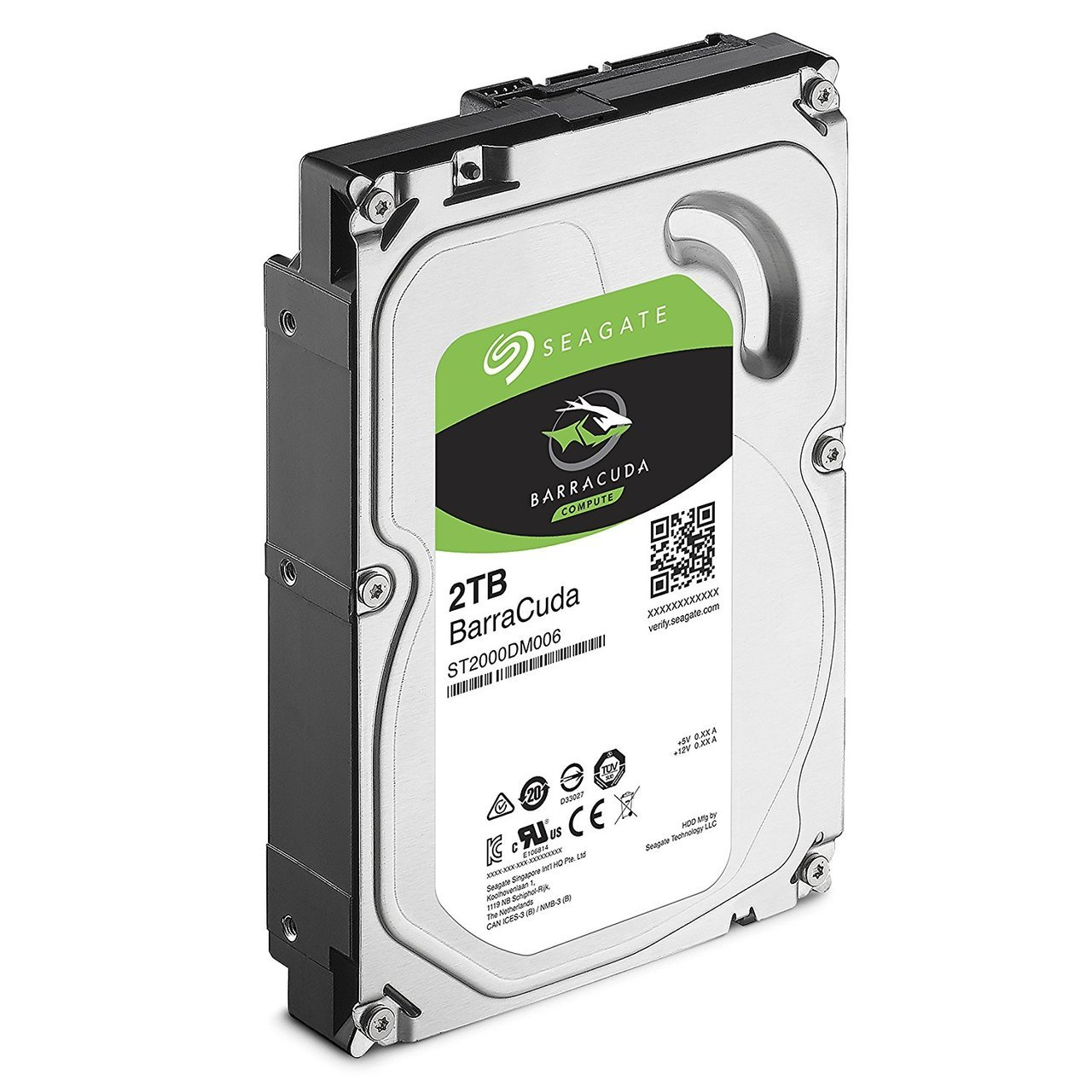 2TB SEAGATE BARRACUDA ,7200 SATA 3 6GB/S 7200RPM 64MB CACHE 8MS INTERNAL HARD DRIVE - OEM, ST2000DM006 SEAGATE - INT HDD BUSN MOBILE ST2000DM001