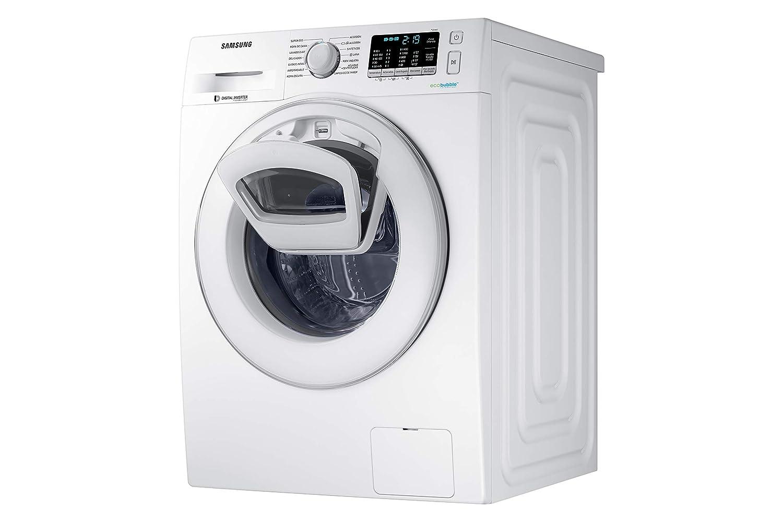Samsung - Lavadora AddWashTM Serie 5 9kg WW90K5410WW: Amazon.es ...