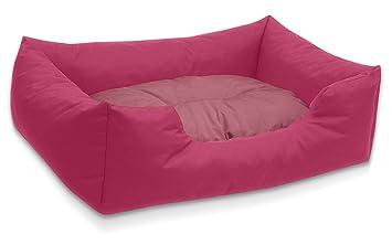 BedDog colchón para Perro Mimi S hasta XXXL, 26 Colores, Cama para Perro, sofá para Perro, Cesta para Perro, L Pink/Rose: Amazon.es: Productos para mascotas