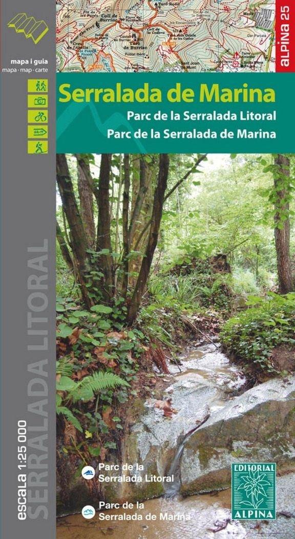 SERRALADA DE MARINA (Alemán) Mapa – Mapa doblado, 10 oct 2016 EDITORIAL ALPINA SL 8480905182 Gazetteers & Maps)