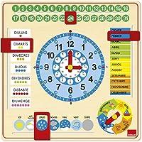 Goula - Reloj y Calendario en catalán, Material