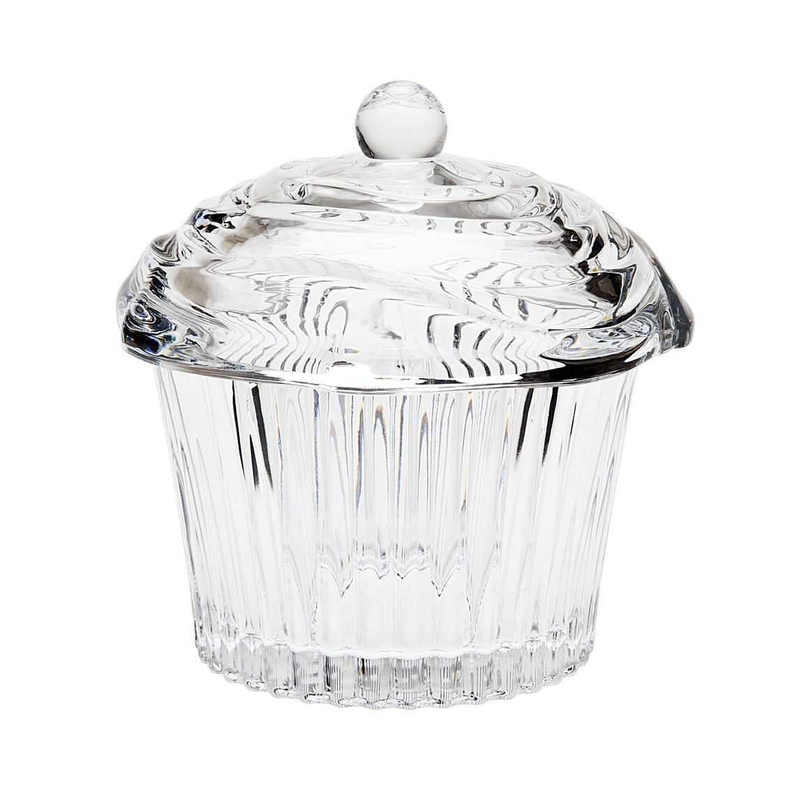 Godinger 64601 Crystal Cupcake Covered Box,