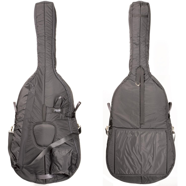 Mooradian 3/4 Standard Upright String Double Bass Bag - Black BHBU0503A341