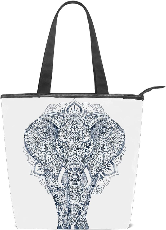 Fashion Womens Multi-pocket Canvas Handbags Black /& Red Color Eiffel Shoulder Bags Totes Purses