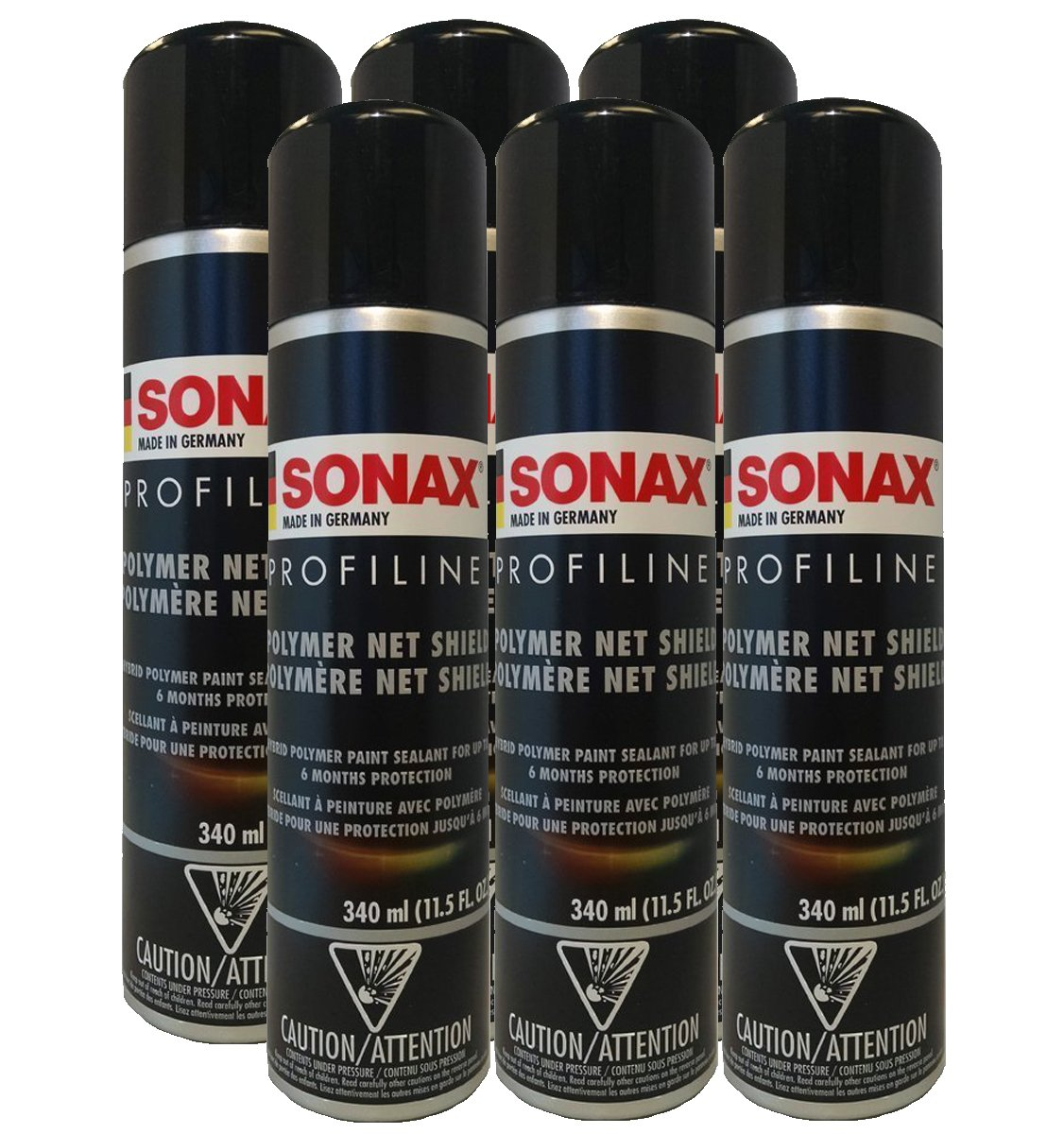 Sonax Polymer Net Shield - 11.5 fl. oz. (6 Pack)