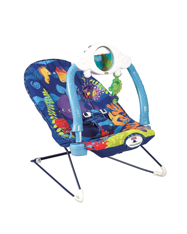 Fisher-Price Baby Gear T2806 sdraietta Acuario Luces y Sonidos: Amazon.es: Juguetes y juegos