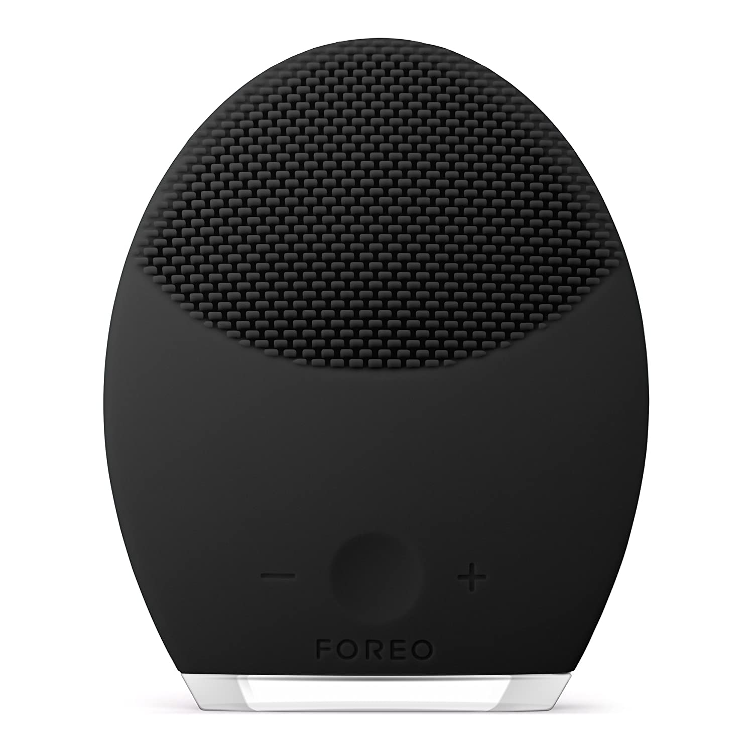 FOREO LUNA 2 Facial Cleansing Brush and Portable Skin Care device made with Ultra Hygienic Soft Silicone for Every Skin Type USB Rechargeable For Men: Premium Beauty