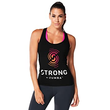 e98d2e51bc574 Zumba Fitness® Strong by Racerback Camiseta