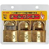WAKI オール・ワン・キー 40mm 6個入り SK-022