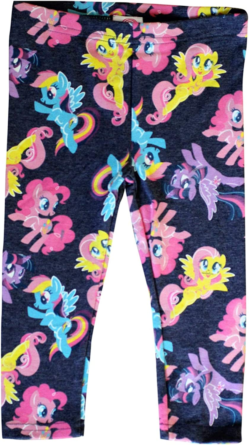 3//4 Years My Little Pony Licensed Stretchable Leggings for Girls Kids Children Grey//Pink//Yellow//Lilac