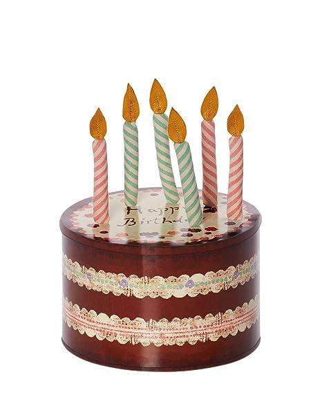 Maileg Birthday Cake Candles Box
