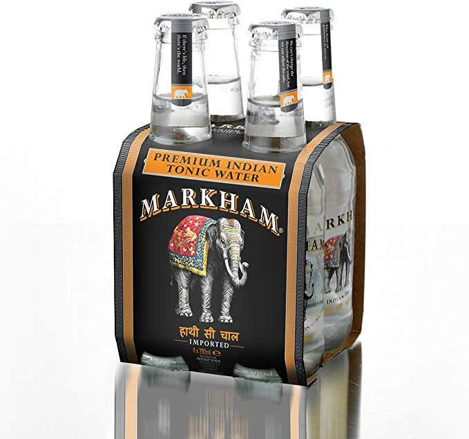 Markham pack 4 markham premium indian tonic water pack 4: Amazon ...